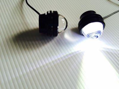 透鏡牛眼燈 汽車LED超大功率 COB爆閃 鷹眼燈霧燈 LED改裝日型燈