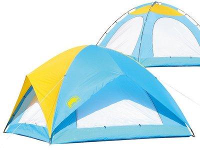 [金樹戶外]RHINO 犀牛 A-085 八人城堡蝶式帳篷/8人帳篷/登山戶外/露營/旅遊/台灣製造/野營/多人帳篷
