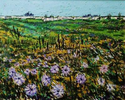 (特價商品)  【台灣人珍瓊-200802】Morning glory blooming in the field