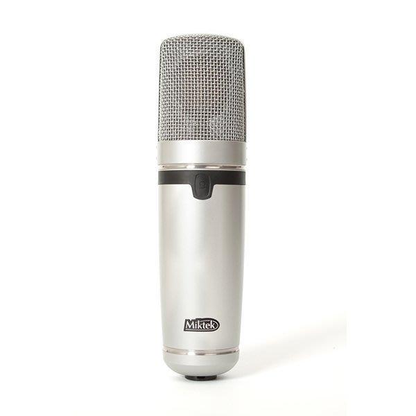 《民風樂府》美國製Miktek C1 電容麥克風 FET放大電路 親民價格擁有天價級音質