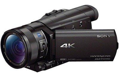 九晴天 租攝影機、租DV、租鏡頭 出租~SONY FDR-AX100 (4K攝影機)