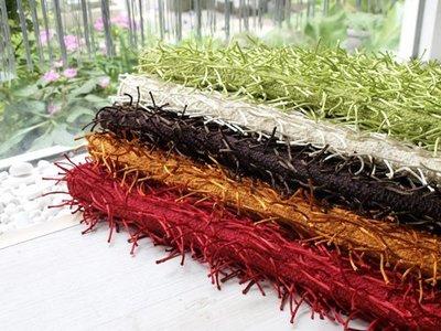 【3折】 星辰手工編織防滑毯【共5色】(55 x 130 公分 ) -麗塔寢飾-
