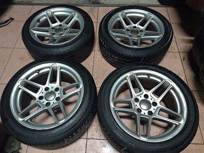 BMW E34 E38 E39 E60 正AC 17吋 鋁圈含胎 8.5J ET15 235 45 R 17 二手