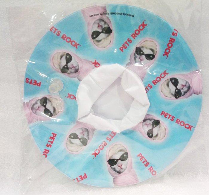 Pets Rock      PVC吹氣漂浮杯墊  (杯子的游泳圈) A貓咪款 全新品  特價30元  [3S三森美家]
