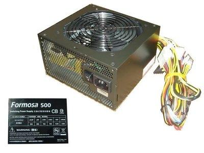 ...點子電腦-北投...全新散裝◎佶偉代理 ForMosa 黑化 500W◎電源供應器1200元