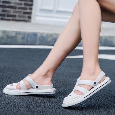 〖免運-可開發票〗洞洞鞋洞洞鞋女防滑軟底上班外穿護士鞋夏季孕婦拖鞋 『比比熊』