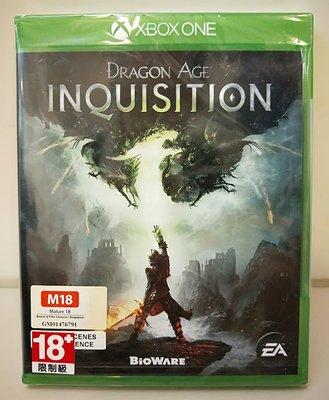 【全新未拆】XBOX ONE 微軟 闇龍紀元: 異端審判 Inquisition (英文版) $690