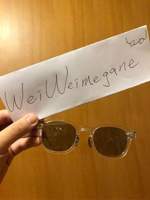 余文樂同款透明墨鏡 YELLOWS PLUS FOR MADNESS 聯名太陽眼鏡 yp leon 余文樂白墨鏡
