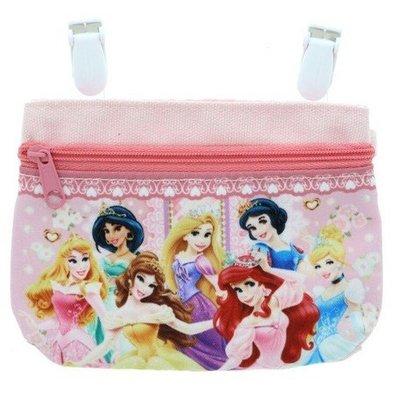41+現貨不必等 迪士尼 公主系列 行動口袋 吊掛式 可放手帕 面紙 小物 掛在裙子 褲子 腰間