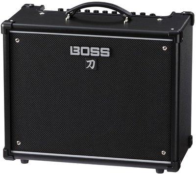 ♪♪學友樂器音響♪♪ BOSS KATANA 50 刀 電吉他音箱 KTN 內建綜合效果器 50瓦