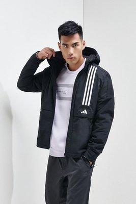 南◇2020 2月 Adidas O2 WB CB FM9400 黑色 連帽 外套 愛迪達 運動休閒外套 全黑 風衣夾克