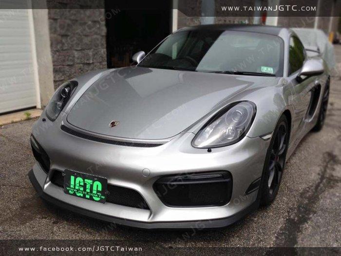 台灣JGTC PORSCHE 981 GT4  前保