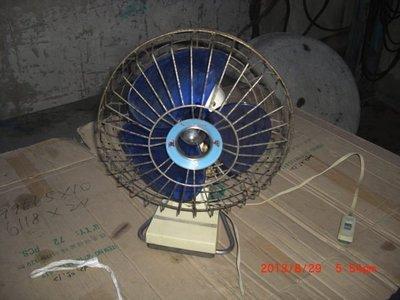 早期 順風駝鳥蛋古董電扇