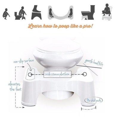 神奇好便椅 Toilet 免治馬桶腳凳 便秘神器 科學角度 浴室 馬桶 凳子
