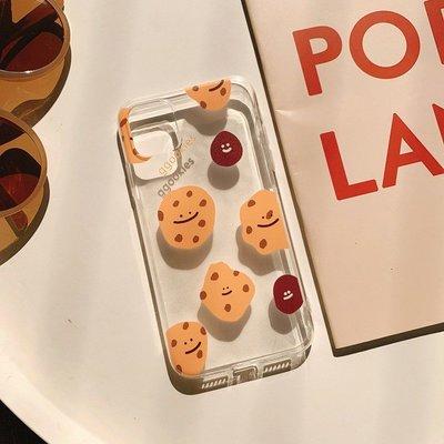 滿版 微笑餅乾 iPhone12 11 11Pro Max/6/7/8/xs/xr/max Mermaid手機殼【快速出貨】