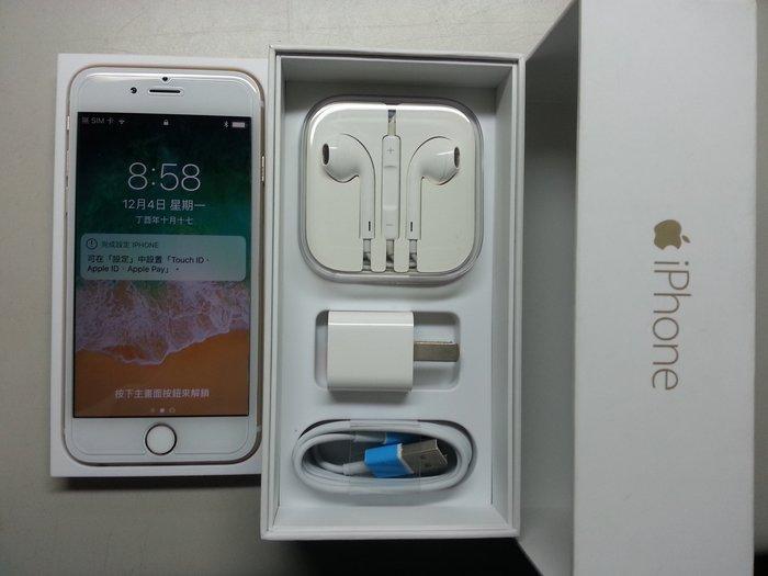 Apple iPhone 6  4.7寸 16G 金色 無碰傷 全正常