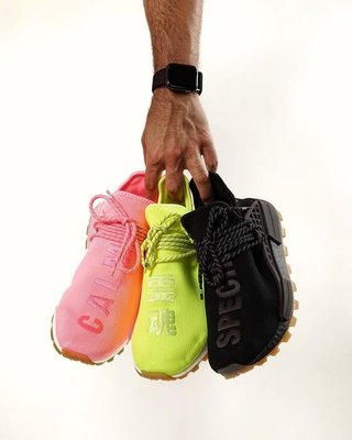 Adidas x Pharrell 菲董 飛董 NMD HU  Proud PW 靈魂 彩色 黑色 螢光黃 男鞋 女鞋 男段 女段 男碼 女碼 各尺寸