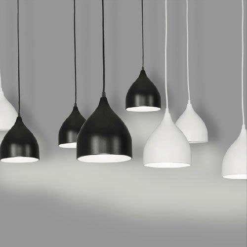 5Cgo【燈藝師】含稅會員有優惠 15288597433 北歐現代簡約創意個性單頭鐵藝燈具飾 廚房書房吧台 餐廳吊燈