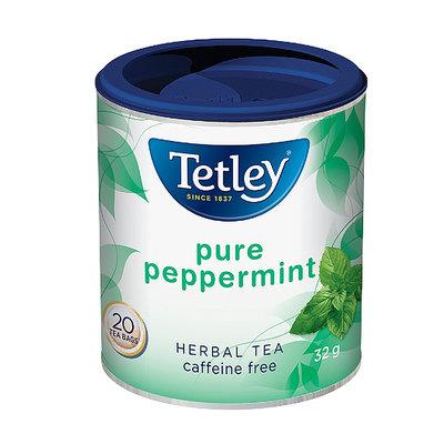 預購 ! 英國 Tetley 純薄荷茶~20包罐裝~透涼氣味醒神紓壓