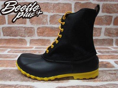 BEETLE全新 NATIVE JIMMY JIFFY BLACK CRAYON YELLOW 黑黃 超輕 防水 獵鴨靴