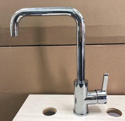 蝴蝶衛浴~廚房水龍頭7字形出水管,可左...