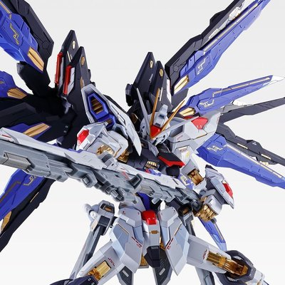 全新行版啡盒未開 METAL BUILD STRIKE FREEDOM GUNDAM SOUL BLUE Ver.