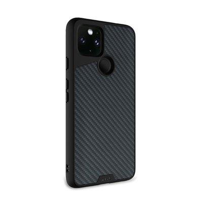 【原裝正品英國軍規】MOUS 天然材質防摔保護殼 - Google Pixel 4a 5G Pixel 5 - 碳纖維