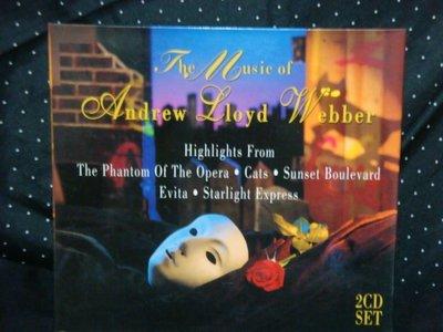 3.   THE MUSIC OF ANDREW LIOYD WEBBER 2CD