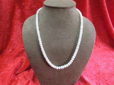 二手舖~ NO.19 天然珍珠項鍊 母親節 手鍊戒指墜子首飾手環耳環 (珍珠大小約2.5-7mm)
