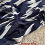 歐美 新款 夏日清新 藍白撞色 塗鴉印花 輕盈飄逸 無袖連身洋裝 背心裙 (K867)
