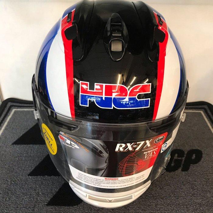 大里Moto2輪館 2020 Arai RX7X與HONDA HRC 聯名紀念帽 特價$21800元