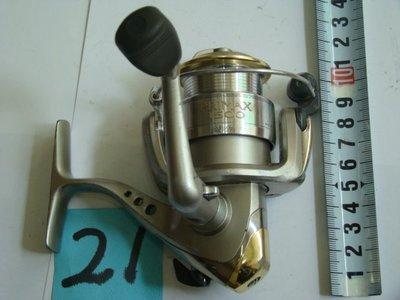 *采潔 釣具DAIWA 1500型 磯釣 遠投 池釣 筏釣 二手釣竿 二手捲線器  中古 二手 Y21
