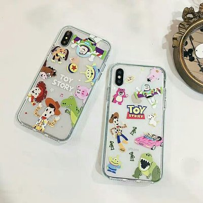Toy Story 透明iPhone手機軟殼