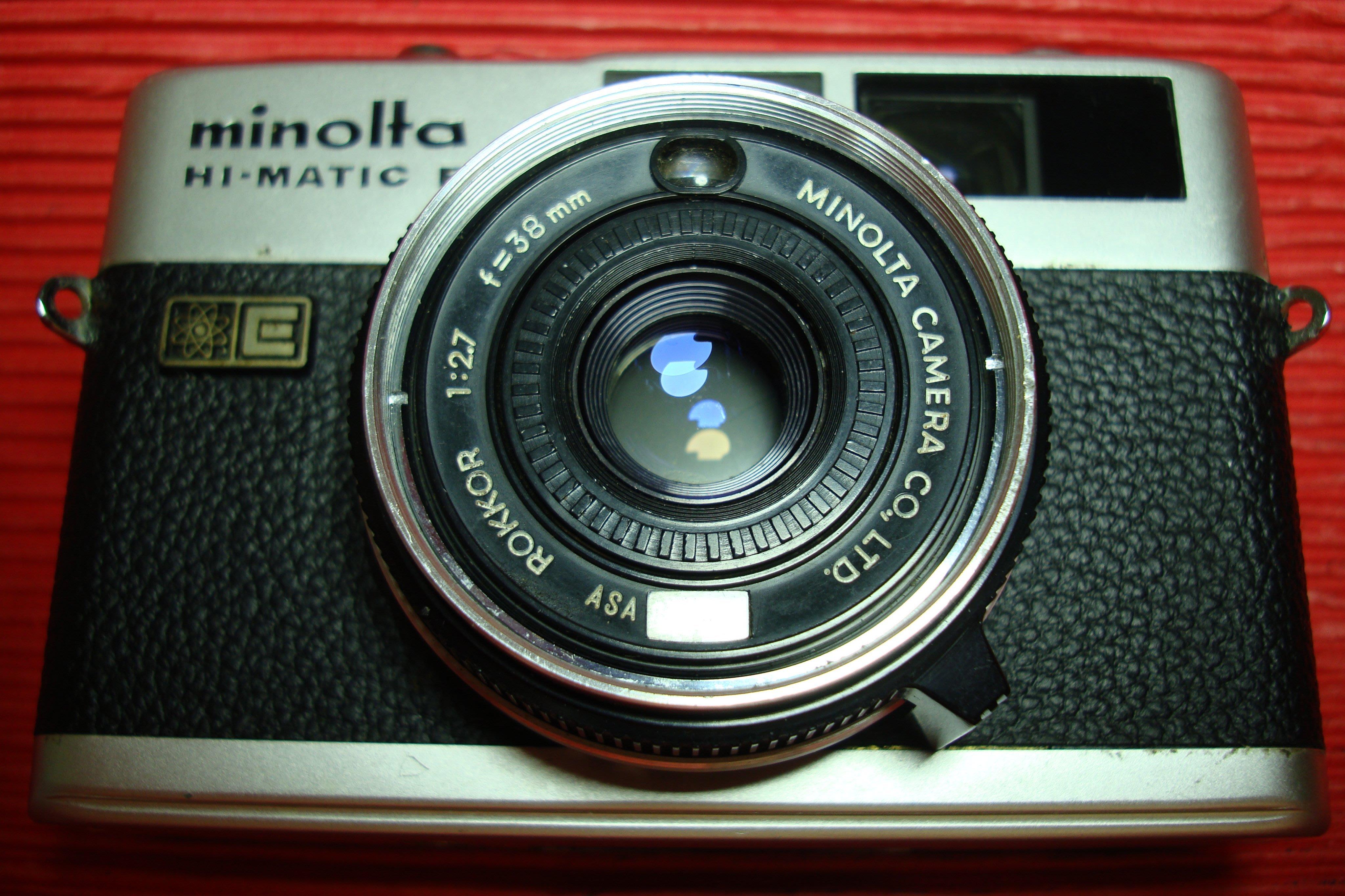Minolta Hi-Matic F 38mm f2.7 (疊影對焦)