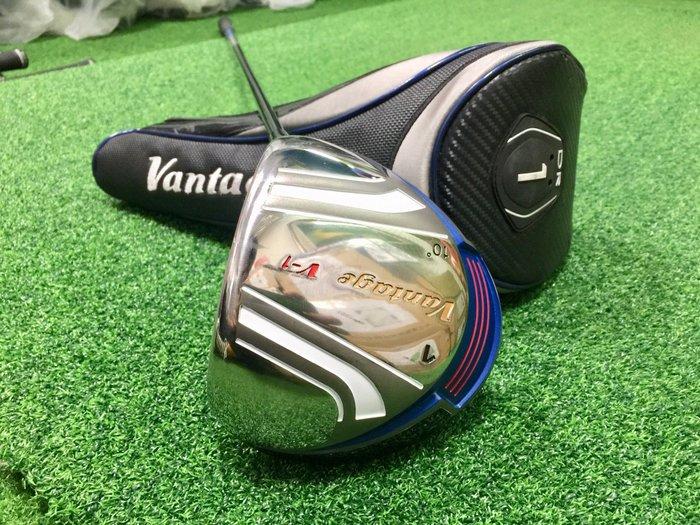 [客人寄賣] [二手專賣區] Vantage V-1 高爾夫 開球木桿 10-R V-1桿身