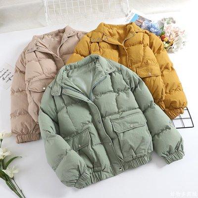好物多商城 棉衣女面包服短款韓國小棉襖女韓版學生寬松羽絨棉冬季厚外套A080