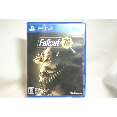[耀西]二手 純日版 SONY PS4 異塵餘生 Fallout 76 含稅附發票