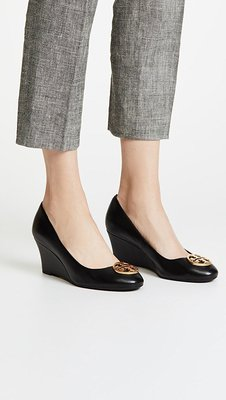 ╭☆包媽子店☆TORY BURCH Chelsea 65mm Wedge Pumps 坡跟鞋/高跟鞋