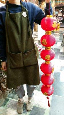 6個燈籠串,紅燈籠串掛飾,