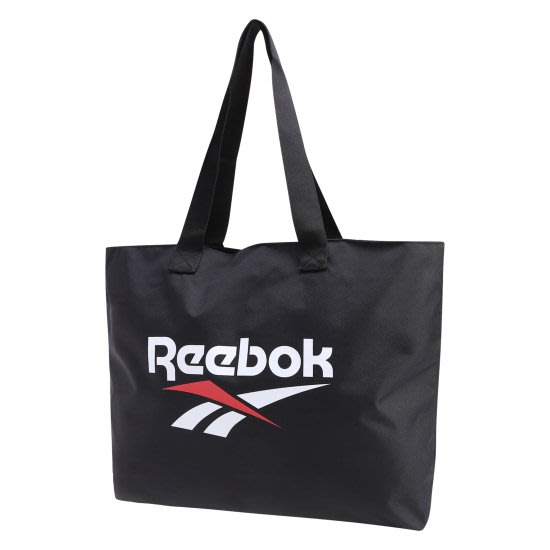 T☆【Reebok配件館】☆【Reebok LOGO托特包/肩背包】☆【RBW003F1】(黑色)10/28到貨