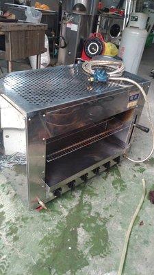 紅外線烤爐  碳烤店  海產店  焗烤  二手烤爐