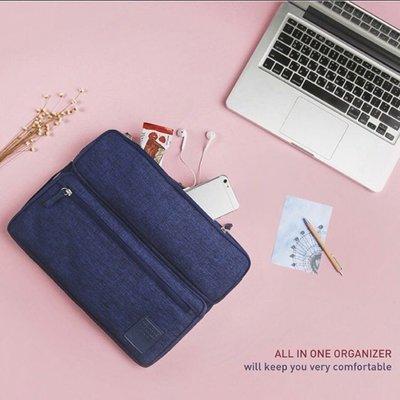 韓國 All in one organizer 高級磨砂布 Nitebook 手提袋 ($150包順豐)