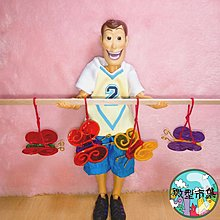 紫星屋【微型市集】自家製 迷你燈籠 玻璃紙蝴蝶玩具 手作DIY miniature 懷舊 食玩扭蛋 黏土 胡迪 森林家族 Licca Blythe Barbie