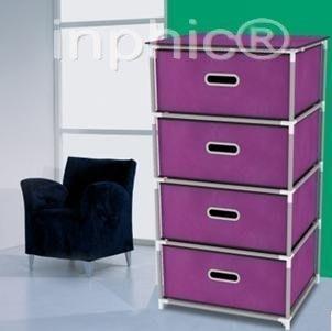 INPHIC-床頭櫃 交換空間簡易四抽收納抽屜櫃 收納箱儲物盒