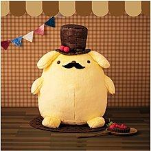 4165本通 景品 日版 布丁狗 娃娃 巧克力和漿果帽 紳士布丁 40公分 下標請詢問