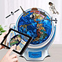 地球儀太陽系ar模型高清萬向vr地球儀4d立體兒童啟蒙720度旋轉智能語音哆啦A珍
