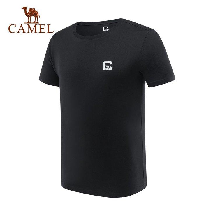 時尚服飾駱駝戶外T恤 男款簡約舒適休閑時尚潮流圓領打底上衣A9S2T7132