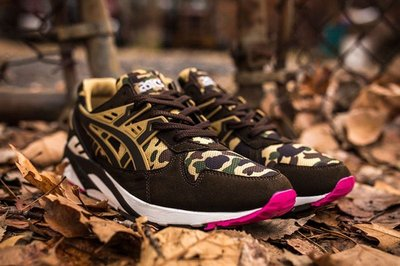 Asics gel kayano trainer camo bape US 9 supreme 台中市