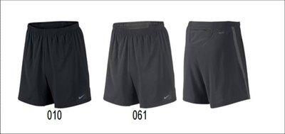 【NIKE】~ NIKE 慢跑5吋短褲  慢跑褲 dri-fit 快速排汗 597981-010 黑