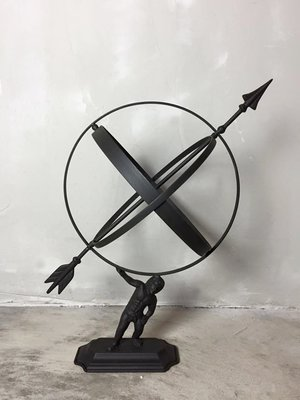 【曙muse】北歐工業風鐵製地球儀( 限量1個 )